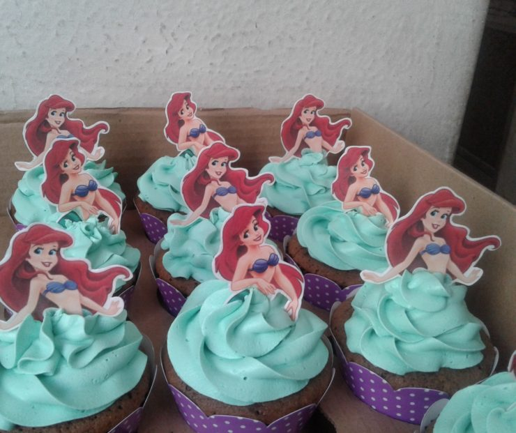 Sweets and Snacks Ideas for the Little Mermaid Party