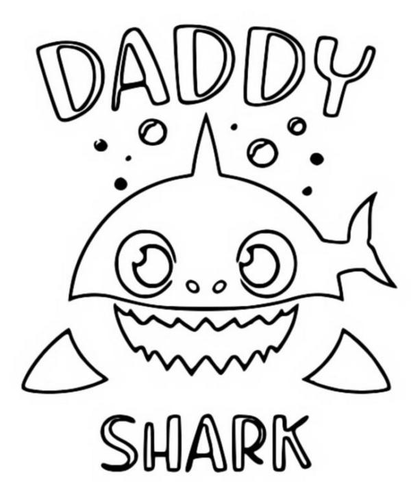 free baby shark activity