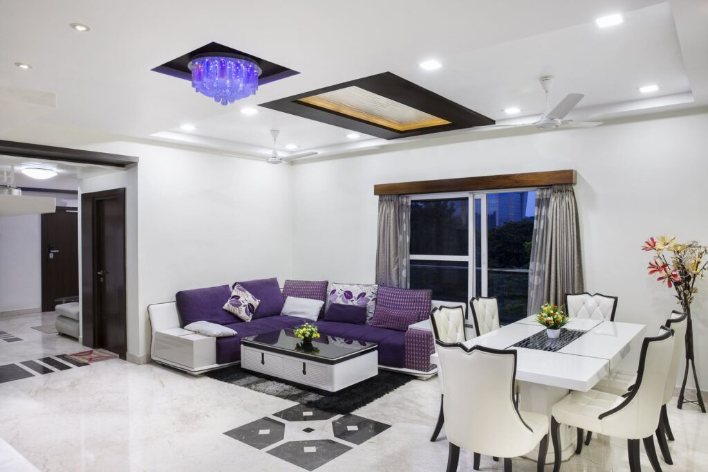 purple decoration
