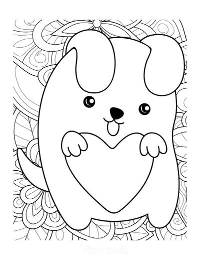 cute puppy to print