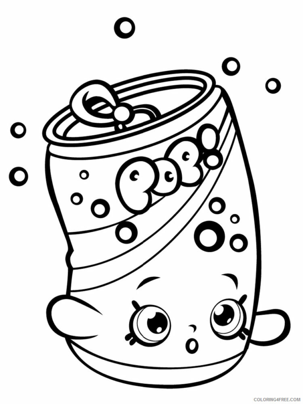 soda to print and color
