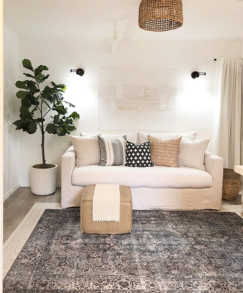 small and beautiful living room