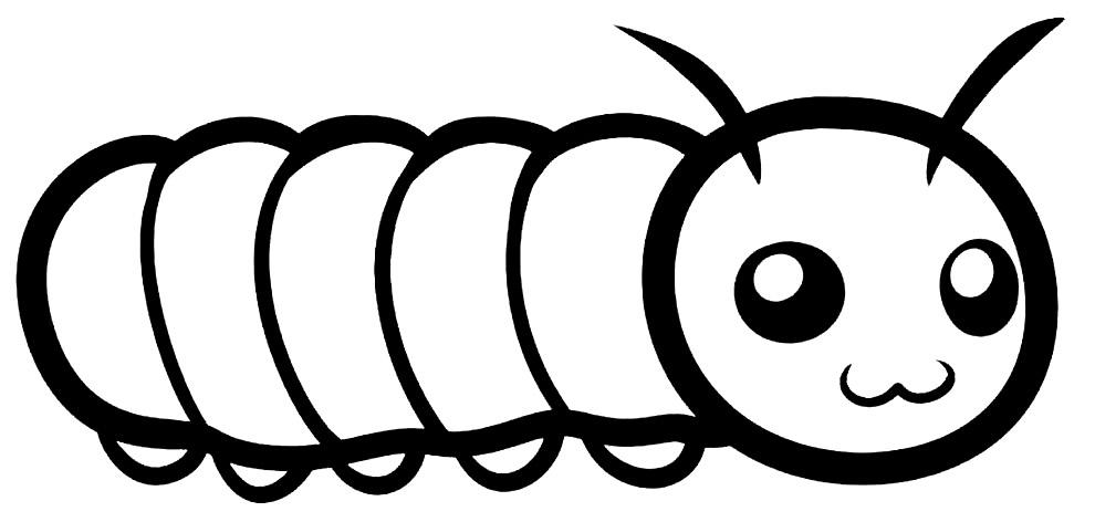 Caterpillar image to paint