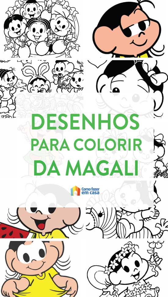 Magali Coloring Pages