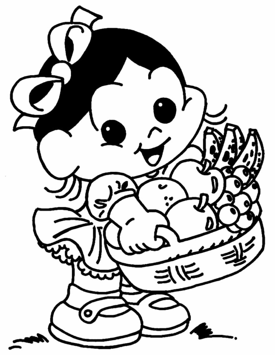 Magali coloring page