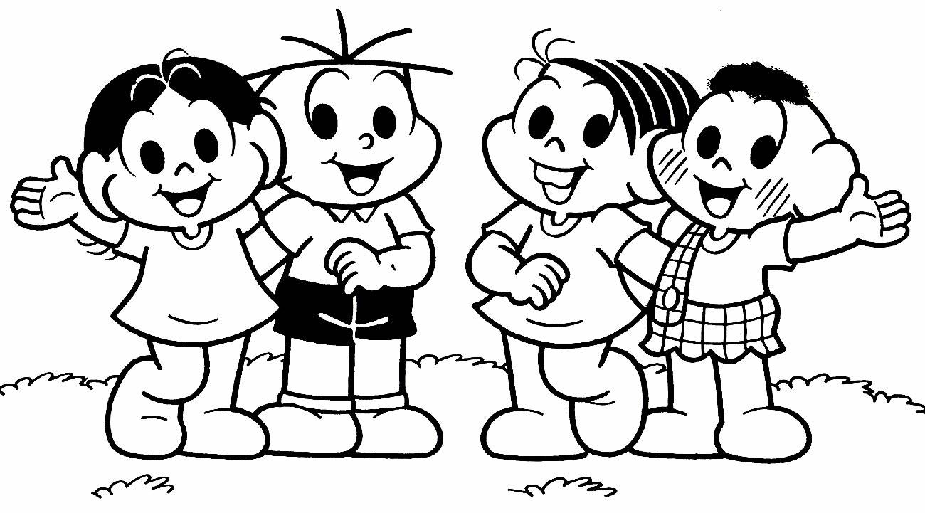 Monica's Gang Drawings