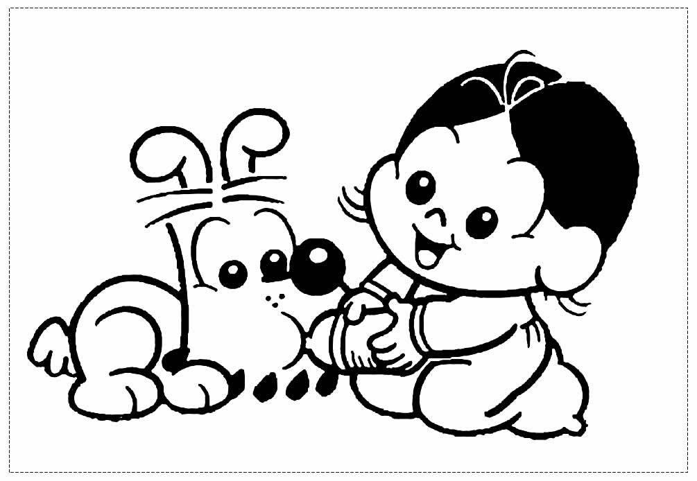 Magali drawing for coloring