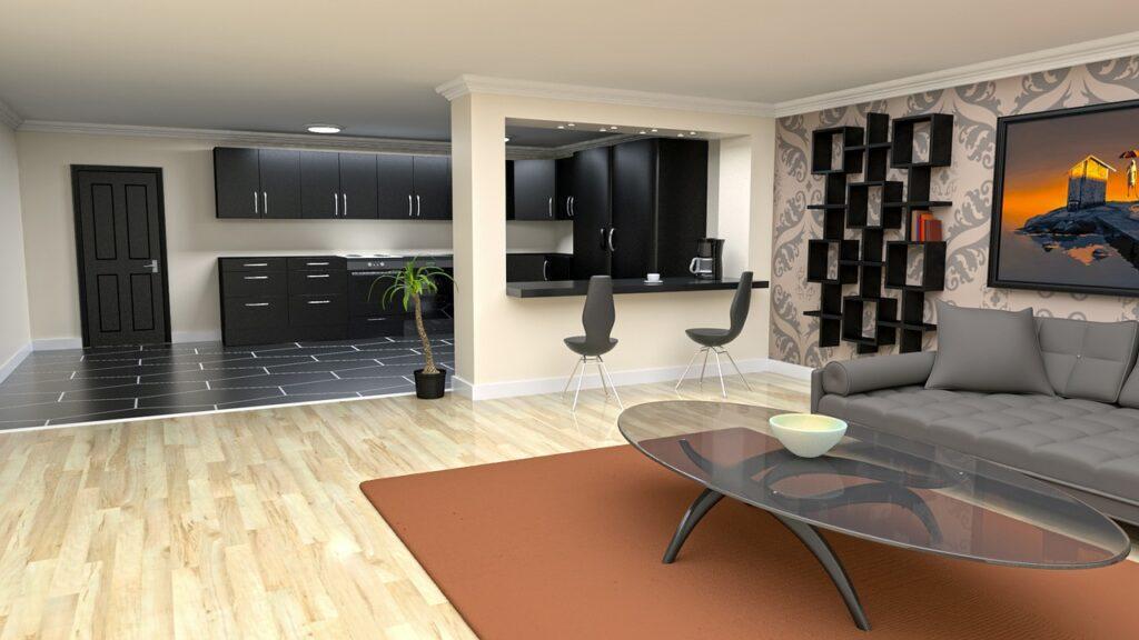 different floors