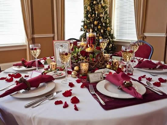 Christmas supper decoration