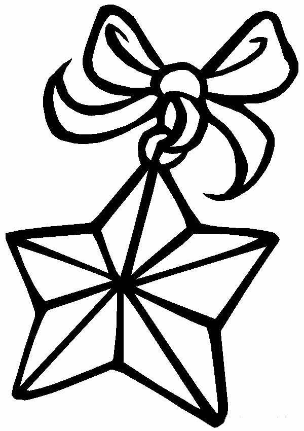 Christmas template for coloring