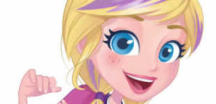 Gorgeous Polly Pocket drawings for coloring