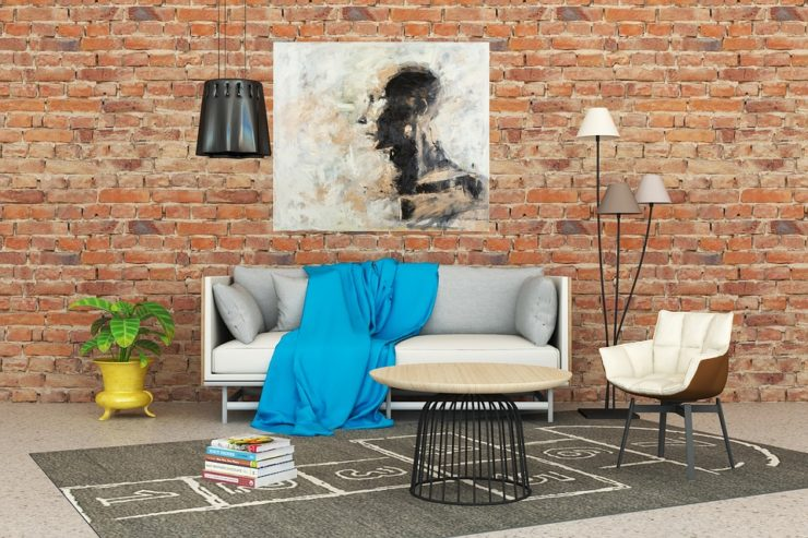 5 Inexpensive materials for interior decoration