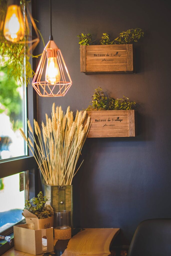 cheap materials for interior decoration