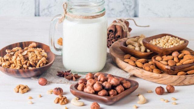 how to make vegetable milk nut milk