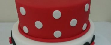 Minnie Red Decorated Cake Ideas