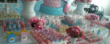 Pink and Blue Party Decor Ideas