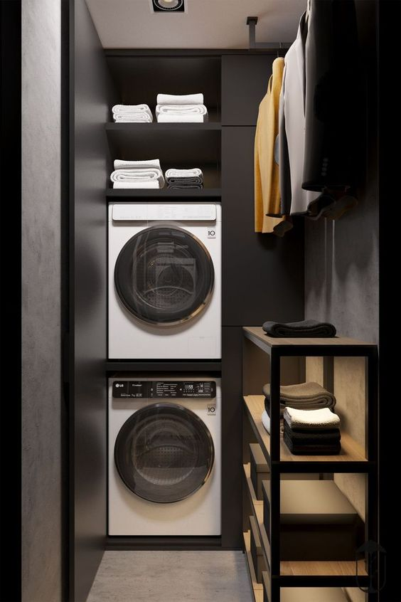 modern ideas for laundry rooms
