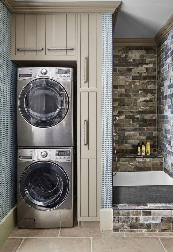 narrow laundry