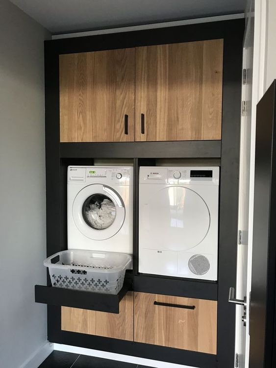 small modern laundry rooms