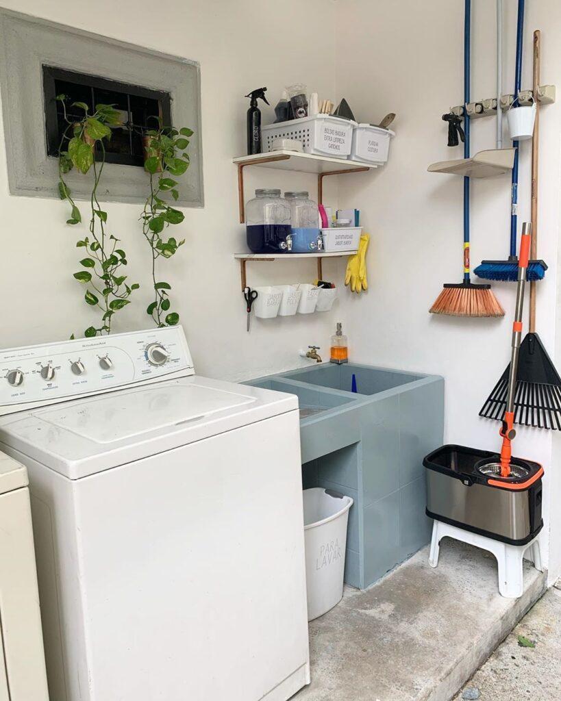 economic laundry room