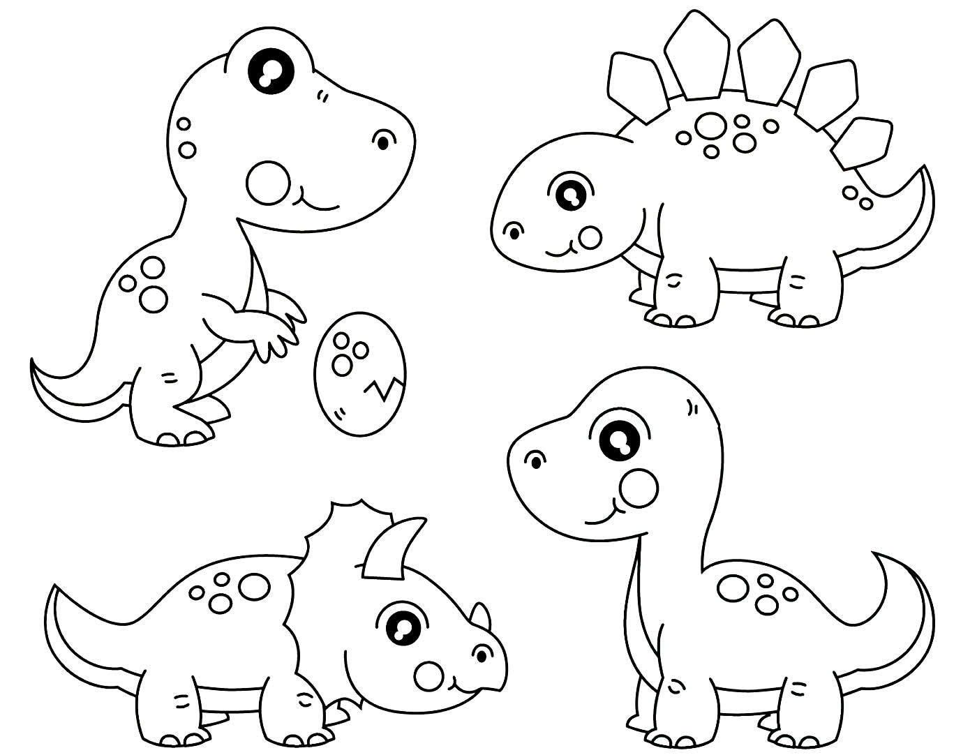 Dinosaur molds for painting
