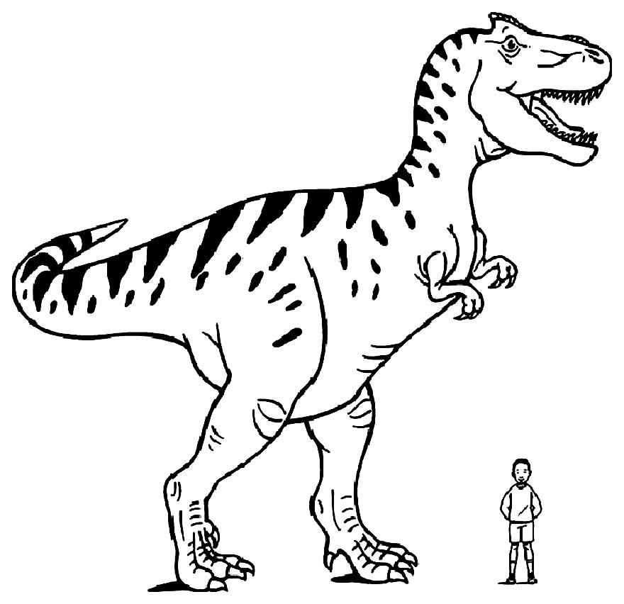 Dinosaur template to print