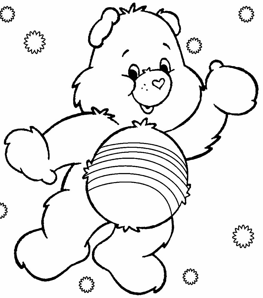 Care Bears Template to print
