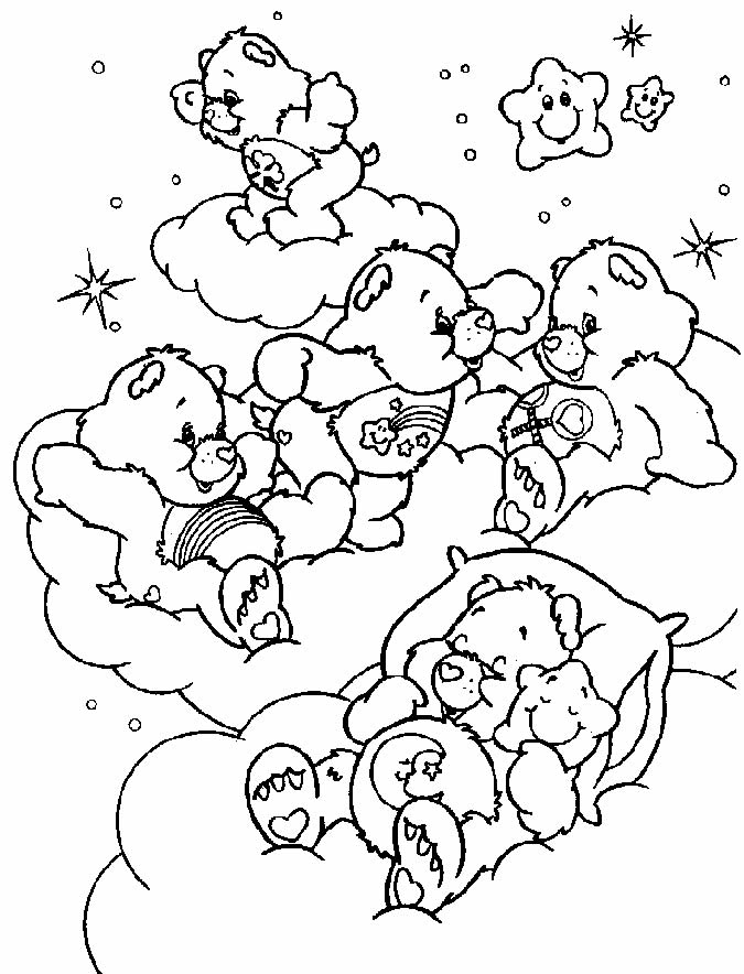 Baby Bears coloring image