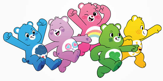 Care Bears Mold
