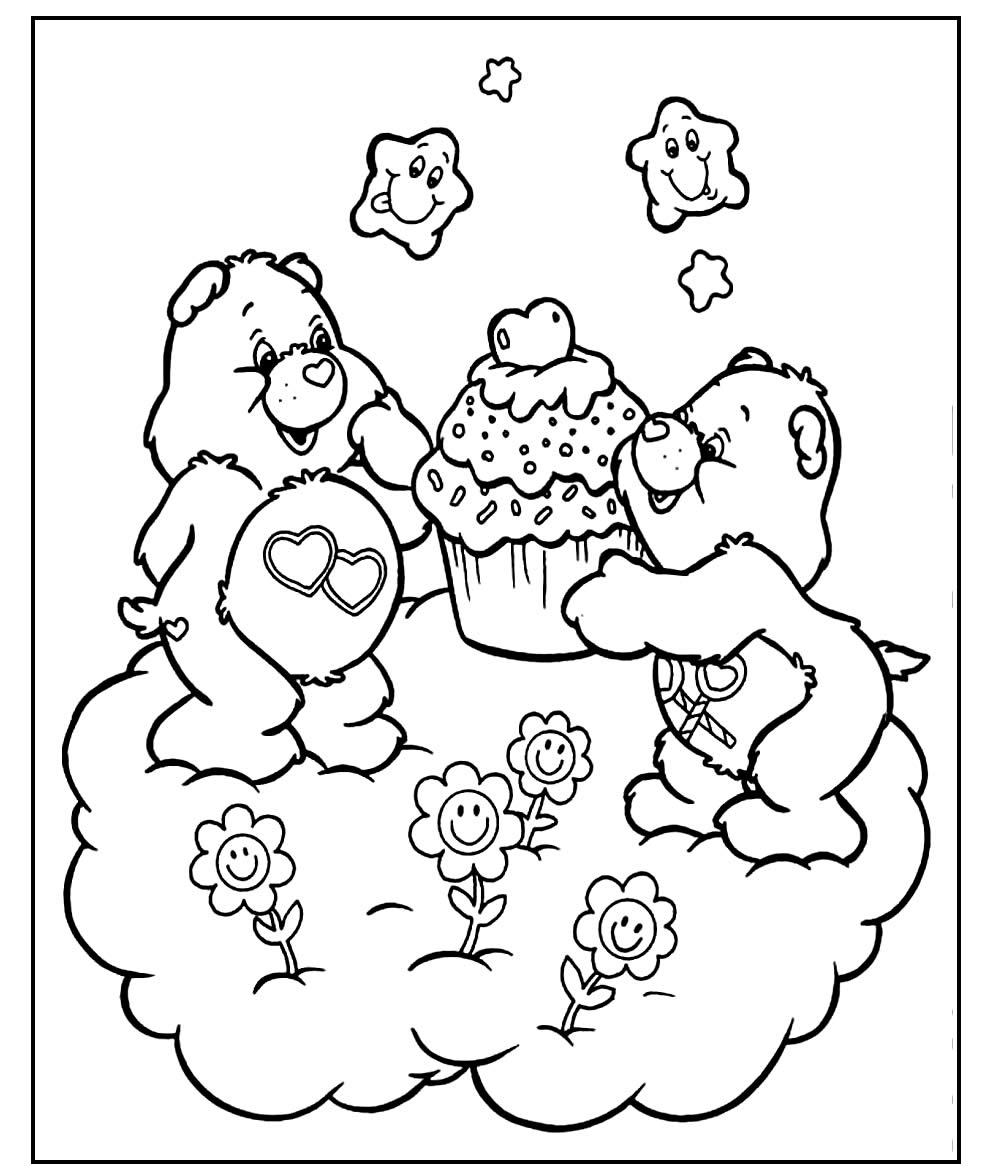 Care Bears Paint Pages