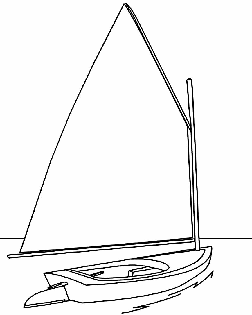 Image of boat to paint