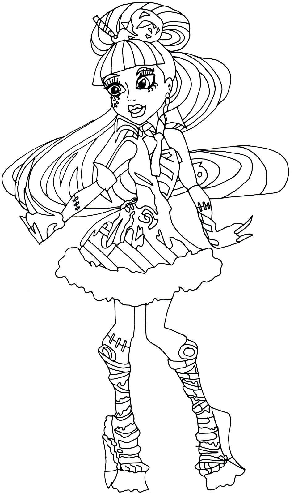Monster High Drawing