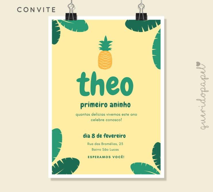 49 Pineapple Party Invitation Ideas